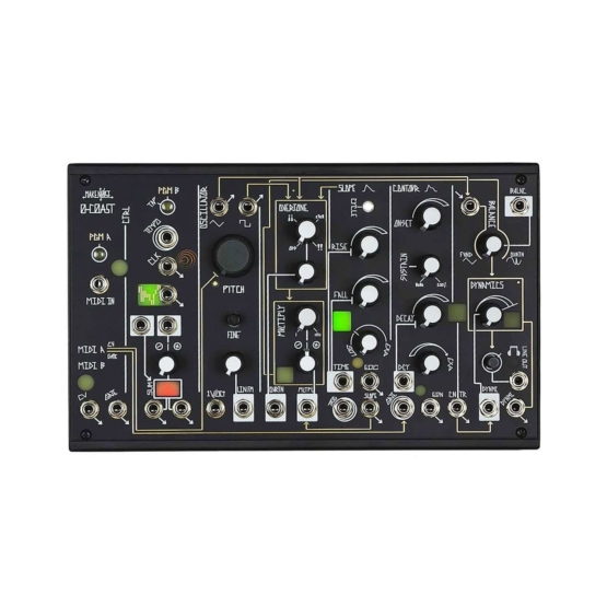 0 coast header 555x555 Sintetizzatori e Drum Machine, Sintetizzatori e Tastiere, Synth Desktop, Moduli Eurorack, Clock, Inviluppo, Filtro, Interfaccia, Multipli, Oscillatori