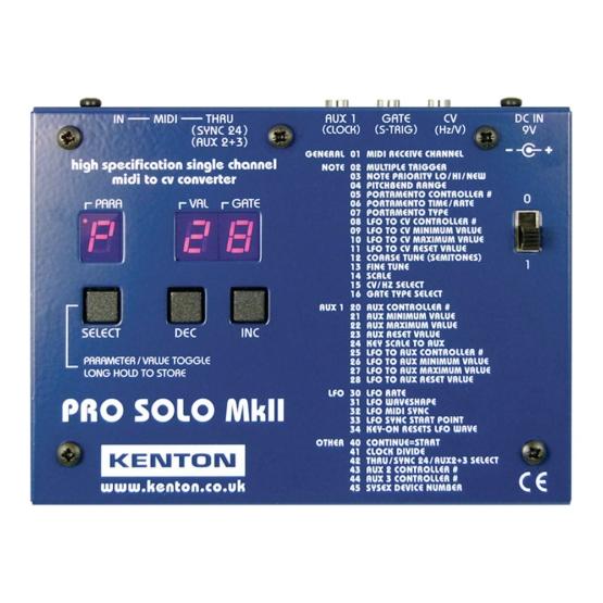 Kenton Pro solo mk2 555x555 Kenton Pro Solo Mk2