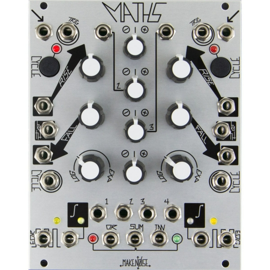 Make Noise Maths 555x555 Sintetizzatori e Drum Machine, Moduli Eurorack e accessori, Inviluppo, LFO Low Frequency Oscillator, Eurorack Utility