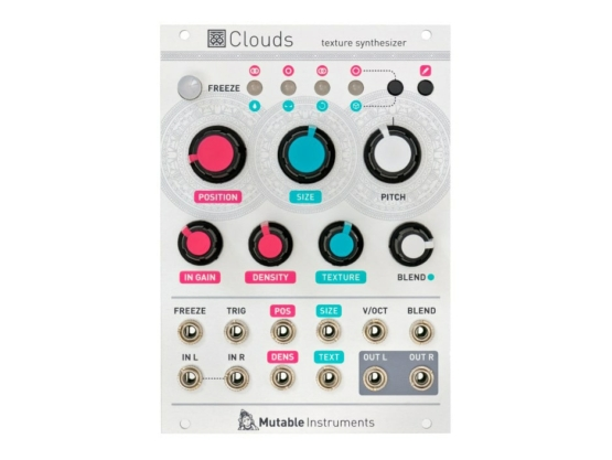 Mutable Instruments Clouds 555x417 Synthesizers and Drum Machines, Eurorack Modules, Effect, Samplers