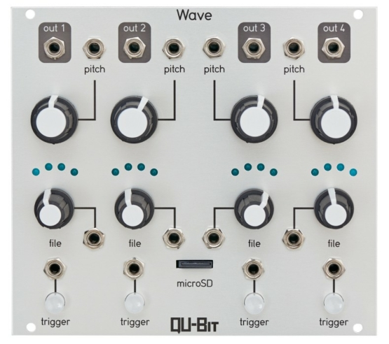 Qu bit wave 555x492 Synthesizers and Drum Machines, Eurorack Modules, Effect, Samplers