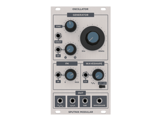 Sputnik Modular Oscillator 555x416 Sputnik Modular Oscillator