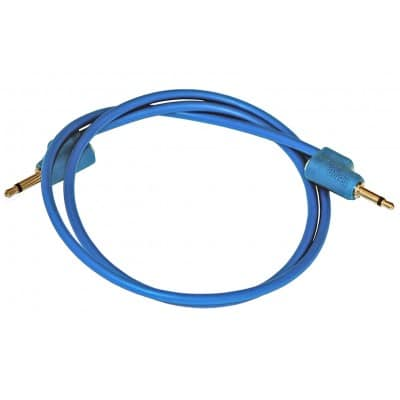 TipTop Audio Blue 70cm Stackcables TipTop Audio Blue 70cm Stackcables