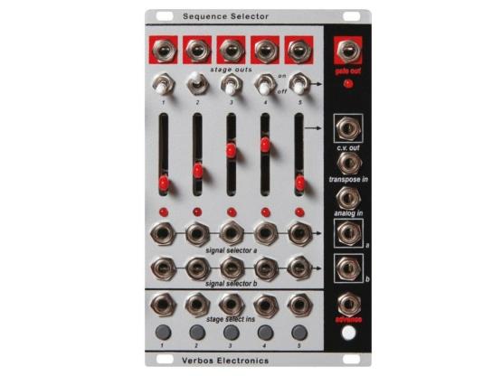 Verbos Electronics Sequence Selector 555x416 Sintetizzatori e Drum Machine, Moduli Eurorack, Sequencer