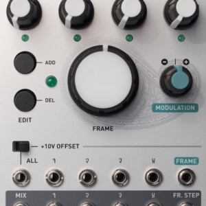 Mutable Instruments Frames Synthesizers and Drum Machines, Eurorack modular system, LFO, Mixer, Random, Sequencer frames 300x300