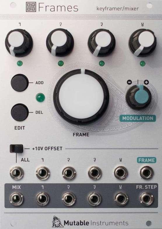 frames 555x785 LFO Low Frequency Oscillator, Mixer modules, Moduli Eurorack e accessori, Sintetizzatori e Drum Machine, VCA Voltage Controlled Amplifier