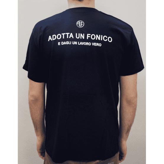 T shirt adotta un fonico back 555x555 AUF Adotta Un Fonico T Shirt – Uomo