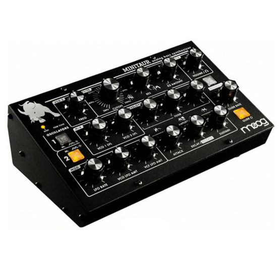 Moog Minitaur 1 555x555 Sintetizzatori e Drum Machine, Sintetizzatori e Tastiere, Synth Desktop