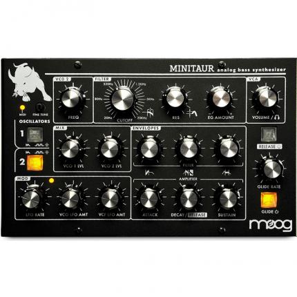 Moog Minitaur Sintetizzatori e Drum Machine, Sintetizzatori e Tastiere, Synth Desktop Moog Minitaur 2 430x430