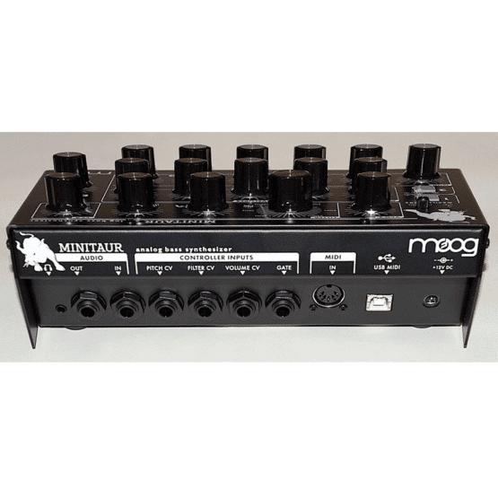 Moog Minitaur rear 555x555 Sintetizzatori e Drum Machine, Sintetizzatori e Tastiere, Synth Desktop