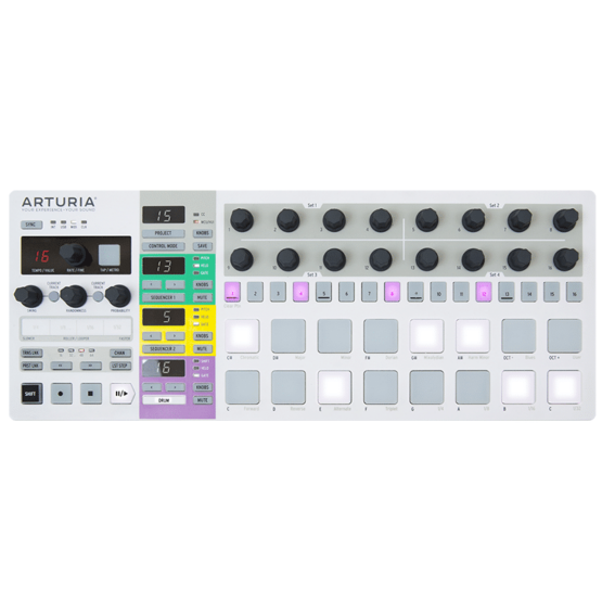 arturia beatstep pro 1 555x555 Sintetizzatori e Drum Machine, Sintetizzatori e Tastiere, Synth Desktop, Drum Machines Batterie Elettroniche