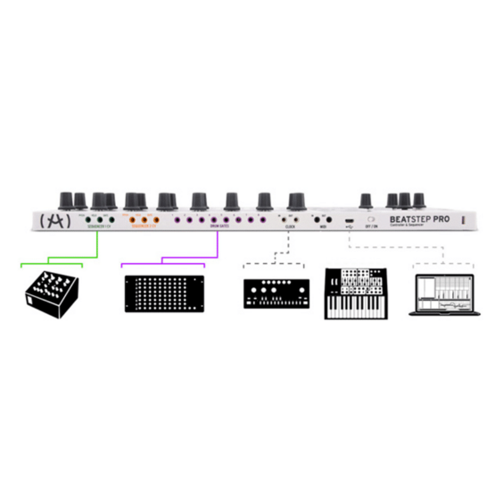 arturia beatstep pro 555x555 Sintetizzatori e Drum Machine, Sintetizzatori e Tastiere, Synth Desktop, Drum Machines Batterie Elettroniche