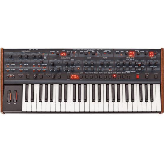 dave smith instruments ob 6 keyboard 1 555x555 Sintetizzatori e Drum Machine, Sintetizzatori e Tastiere, Synth a tastiera