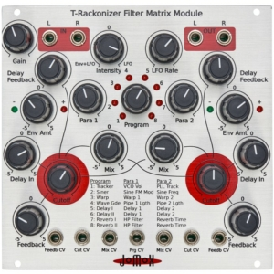 jomox t-reckonizer Filter Matrix Module
