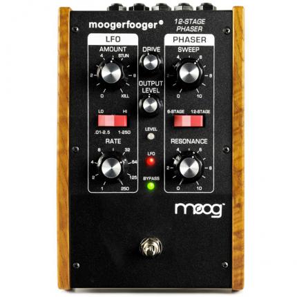 Moog Moogerfooger MF 103 12 Stage Phaser Pedali Stompbox moog mf 103 12 stage phaser 2 430x430