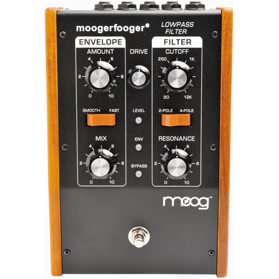 moog mf 101 moogerfooger low pass filter 555x555 Moog Moogerfooger MF 101 Low Pass Filter