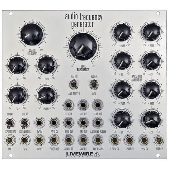 Liveware Audio Frequency Generator AFG 555x555 Livewire Audio Frequency Generator ( AFG )