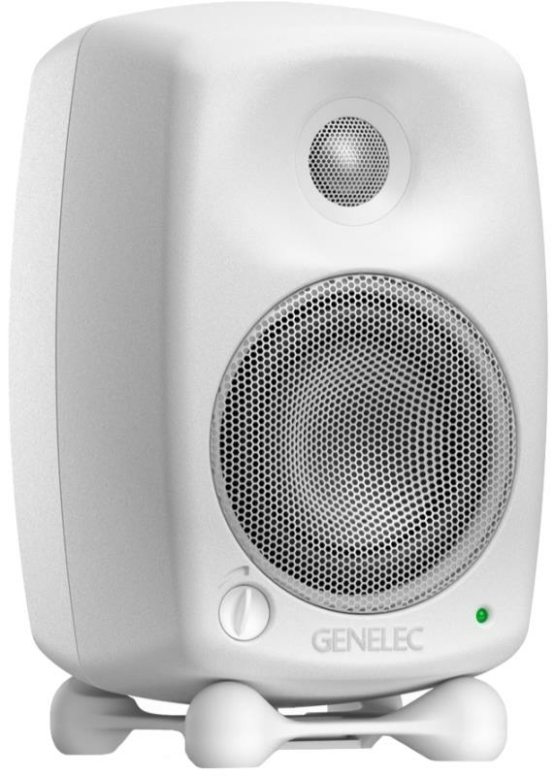 genelec 80200 cwm single white 348733 555x776 Genelec 8020DWM Studio Monitor