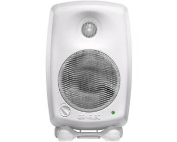 Genelec 8020DWM Studio Monitor Pro Audio, Audio Monitors, Studio Monitor genelec monitor 8020cwm white nearfield a 2 vie con woofer da 4 20w 20w