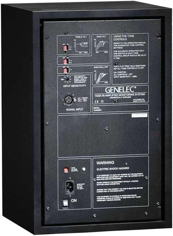 genelec 1032a 4 555x759 Pro Audio, Audio Monitors, Studio Monitor