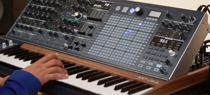 headline Arturia MatrixBrute filters 430x196 Synthesizers and Drum Machines, Synthesizers and Keyboards, Keyboard Synth