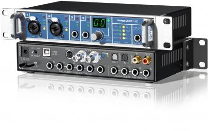 RME Fireface UC Convertitori Audio, Pro Audio, Audio Digitale, Schede Audio per PC e MAC products fireface uc 1b 430x270