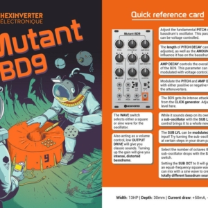 Quick Start Mutant BD9