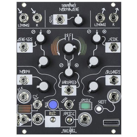 Make Noise morphagene 555x555 Sintetizzatori e Drum Machine, Moduli Eurorack, Effetto, Interfaccia, Campionatore