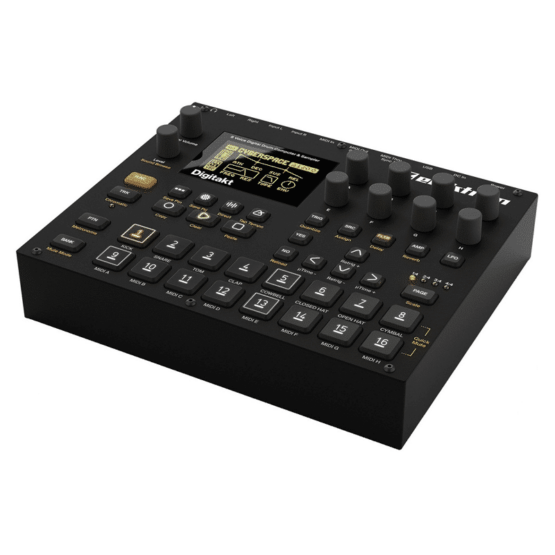 Elektron Digitakt 2 555x555 Sintetizzatori e Drum Machine, Drum Machines Batterie Elettroniche