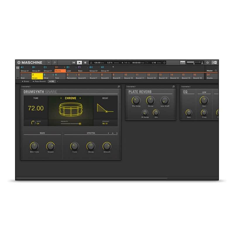 Native Instruments Maschine Mikro Sintetizzatori e Drum Machine, Sintetizzatori e Tastiere, Master Control, Pro Audio, Software Native Instruments Maschine Mikro 06