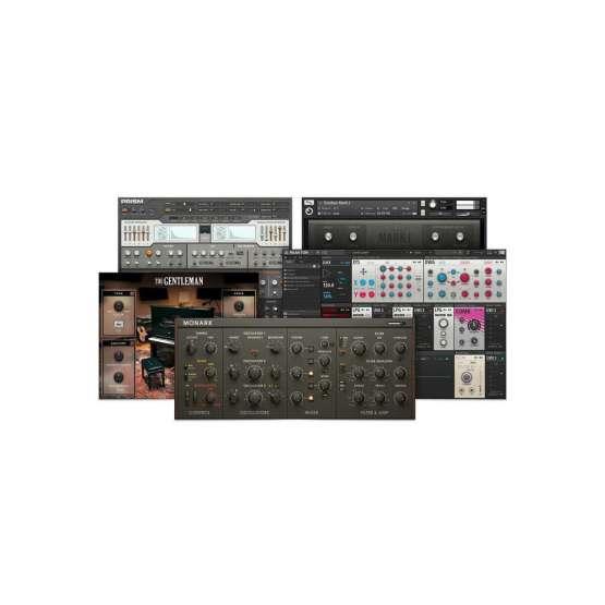 Native Instruments Komplete Kontrol A25 software 555x555 Midi Controller, Sintetizzatori e Drum Machine, Sintetizzatori e Tastiere, Software audio, Strumentazioni Pro Audio per studi di registrazione