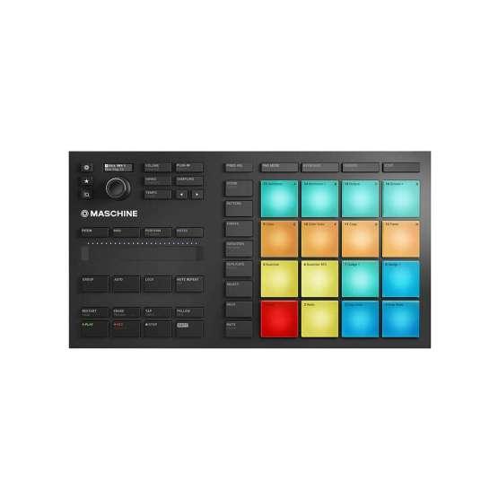 Native Instruments Maschine Mikro Mk3 555x555 Midi Controller, Sintetizzatori e Drum Machine, Sintetizzatori e Tastiere, Software audio, Strumentazioni Pro Audio per studi di registrazione