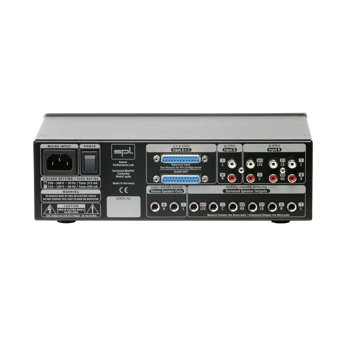 SPL SMC Pro Audio, Audio Monitors, Control Room SPL SMC 02