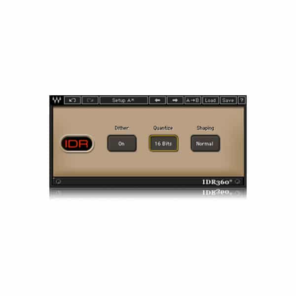 idr360 bit re quantizer WAVES 360° Surround Tools