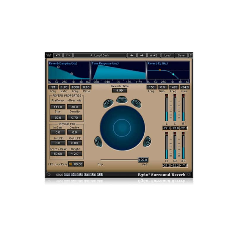 r360 surround reverb WAVES 360° Surround Tools