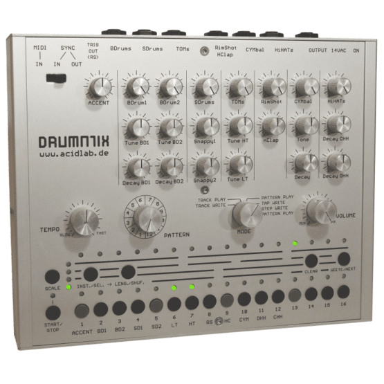 Acidlab drumatix 555x555 Sintetizzatori e Drum Machine, Drum Machines Batterie Elettroniche