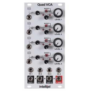 VCA - Voltage Controlled Amplifier