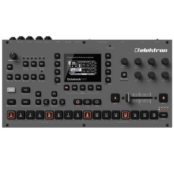 ocktatrack elektron 555x555 Drum Machines, Synthesizers and Drum Machines, Synthesizers and Keyboards, Synth Desktop