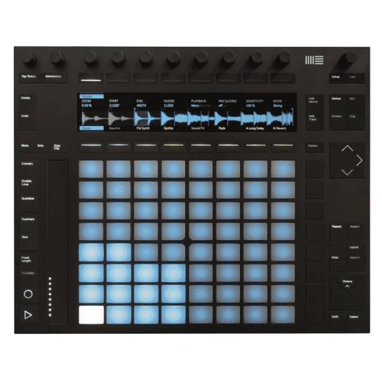 Ableton push 2 555x555 Midi Controller, Sintetizzatori e Drum Machine, Sintetizzatori e Tastiere