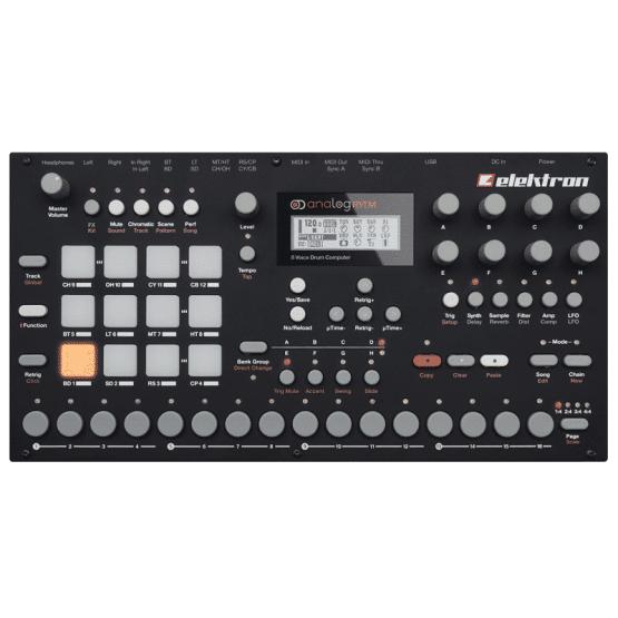 elektron analog rytm 2 555x555 Sintetizzatori e Drum Machine, Drum Machines Batterie Elettroniche