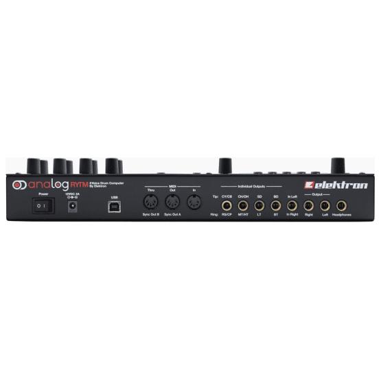 elektron analog rytm 3 555x555 Sintetizzatori e Drum Machine, Drum Machines Batterie Elettroniche