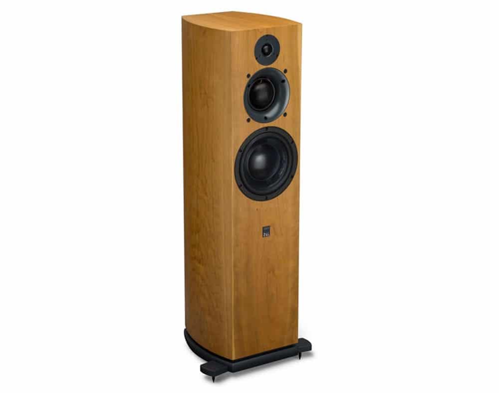 ATC SCM40A diffusore acustico hi fi passivo grill off ciliegio 4 ATC SCM40 (Ex Demo)