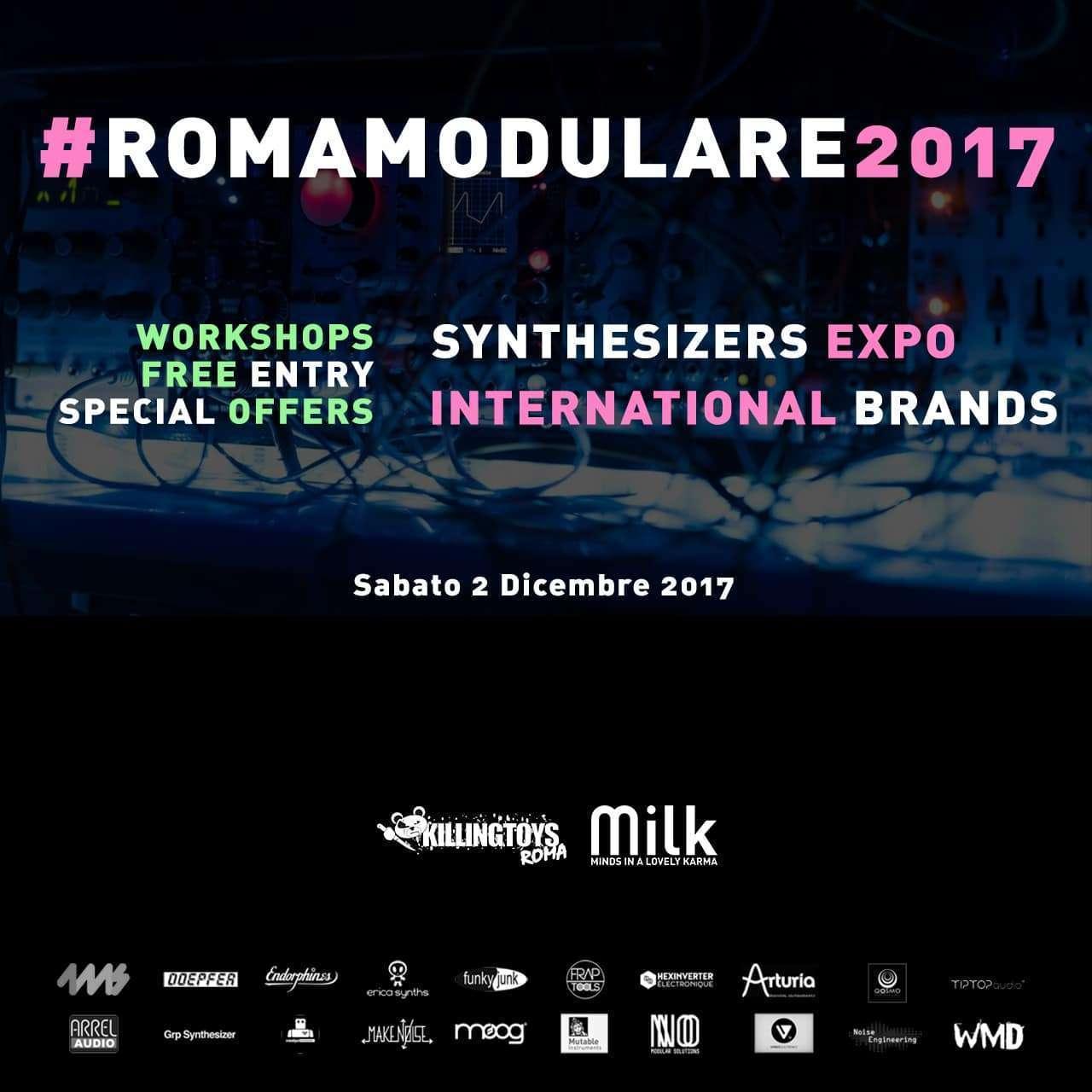 Roma Modulare Sintetizzatori Modulari Expo