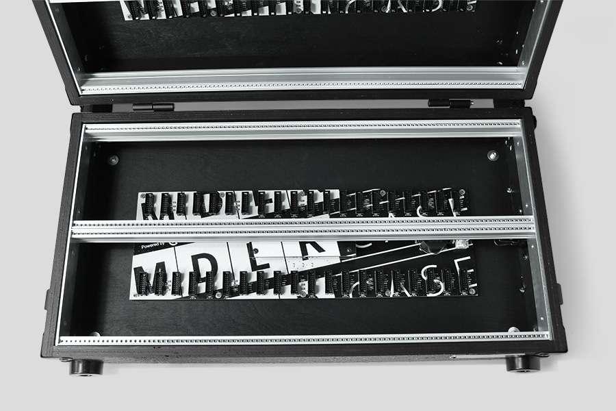 MDLRCASE 12U 104HP 1042 MDLRCASE Performer Series Pro 12u/104HP