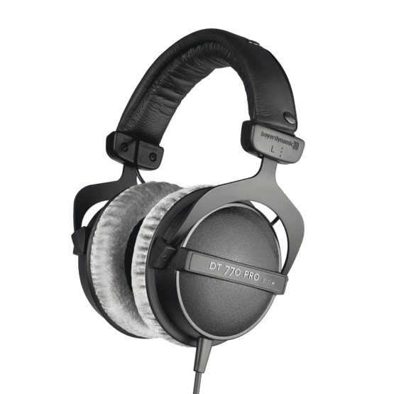 beyerdynamic dt77080ohm3 555x555 Pro Audio, Audio Monitors, Cuffie
