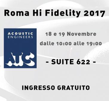 ATC a Roma Hi Fidelity 2017