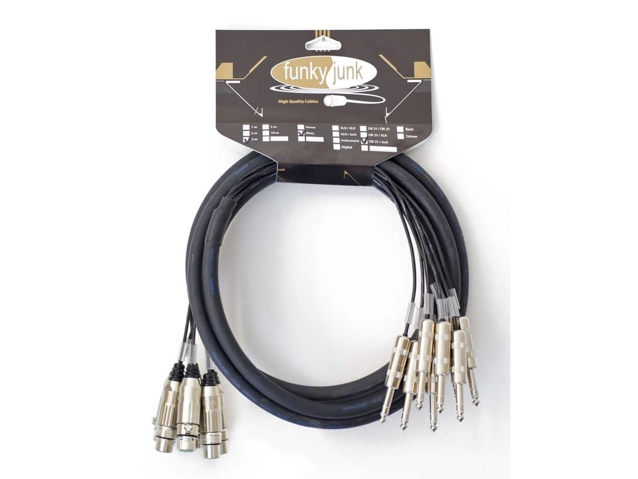 Multicore Cable 8 Xlr F Jack Dlx Disponibile Su Milk Audio Store Wiring Funky Junk Cables 555x416 Pre Made Pro