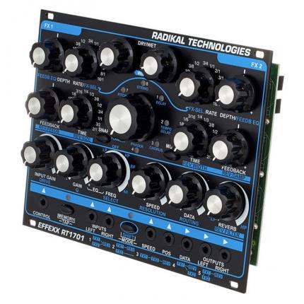 Radikaltechnpologiesrt1701 2 430x430 Sintetizzatori e Drum Machine, Moduli Eurorack, Effetto
