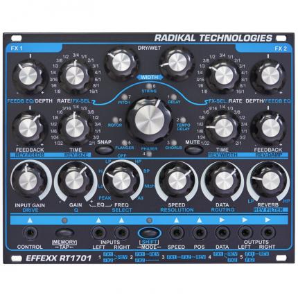 Radikaltechnpologiesrt1701 430x430 Sintetizzatori e Drum Machine, Moduli Eurorack, Effetto