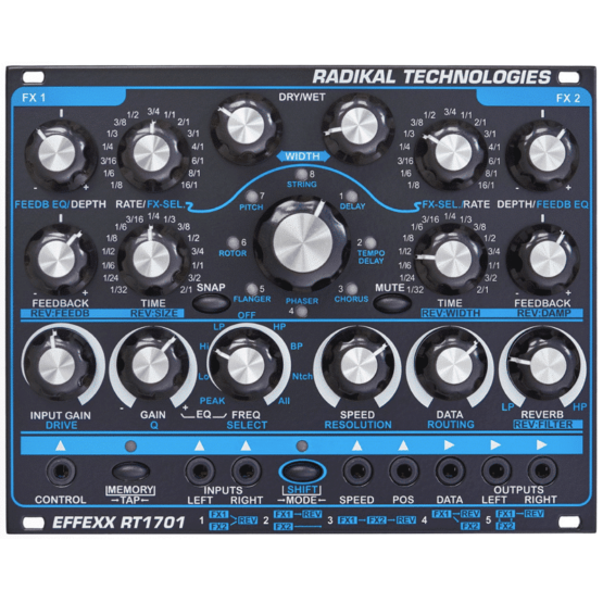 Radikaltechnpologiesrt1701 555x555 Synthesizers and Drum Machines, Eurorack Modules, Effect